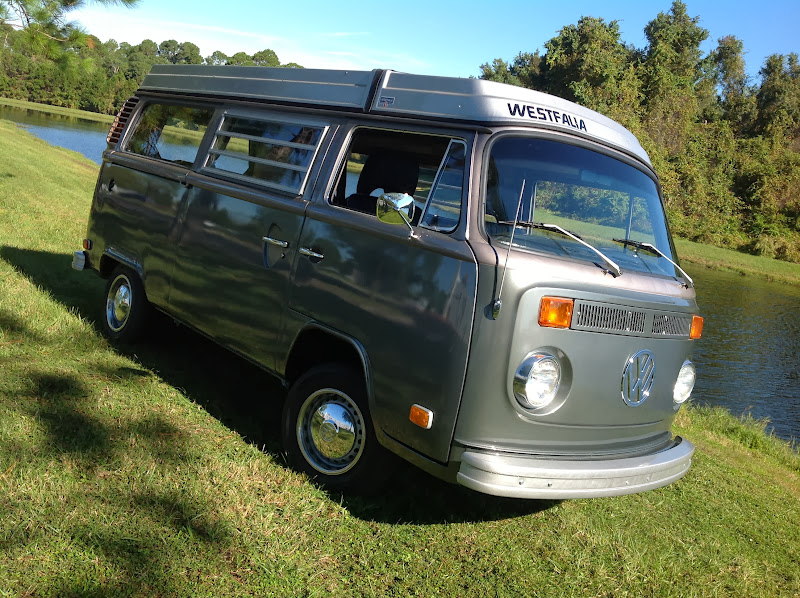 Buy Used 74 Vw Camper Westfalia Bus Campmobile Westy Popup