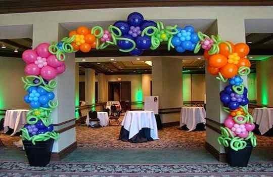 Arco de Bienvenida para Fiesta de cumpleaños