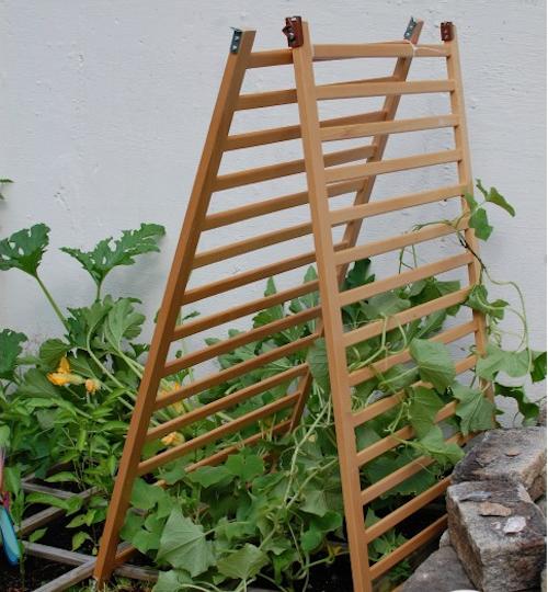 Garden Trellis crib sides