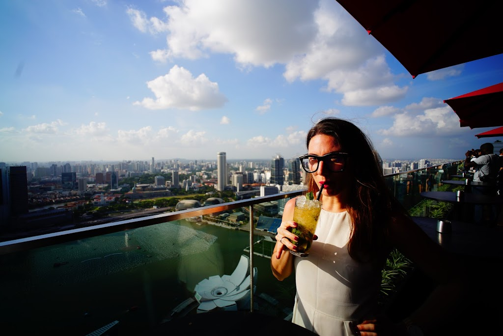 Marina Bay Sands rooftop bar