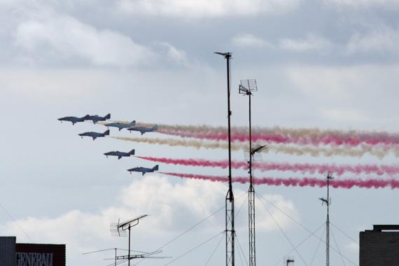 Desfile Aéreo, Día de la Fiesta Nacional, 12 de octubre de 2015