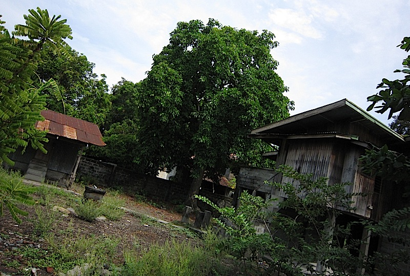ruins of the Litonjua house in Bacnotan