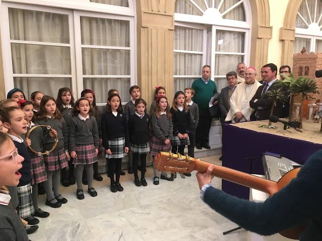 El Coro del Colegio de la Compañía de María.