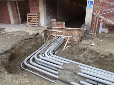 Electrical conduit entry