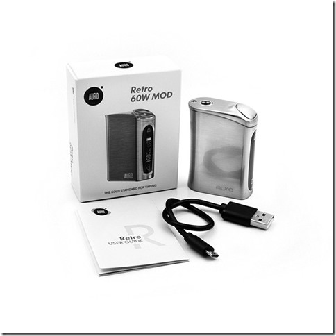 smaco retro 60w mod 1 thumb%25255B1%25255D - 【MOD】SMACO AURO Retro 60W TC Box Modレビュー!小さな姿のバッテリーMODの巻