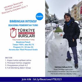 Kesempatan Beasiswa YTB Scholarship Tanpa TOEFL dan IELTS