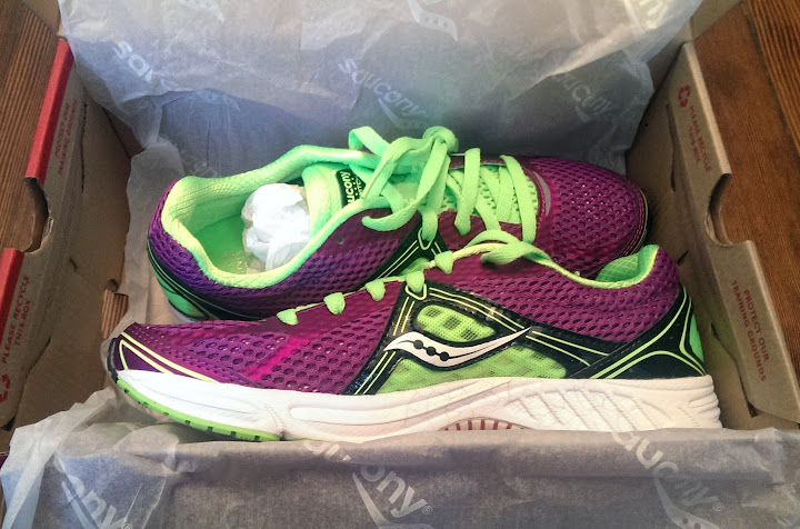 2a970c4e18b9 The reason I like both the Saucony Kinvara (my favorite long run marathon  shoe) and Saucony Type A (my current go-to track speed shoe) is because a)  they ...