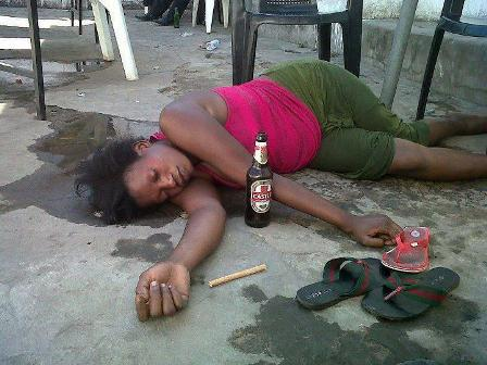 My Wife is a Drunkard and she Urinates on Herself – Man Cries Out