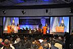 """Ceremonia de entrega de la distinción """"Valores Democráticos Fernando Belaunde Terry"""" en la Universidad San Ignacio de Loyola"""