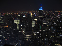 """View from the """"Top of the Rock""""."""