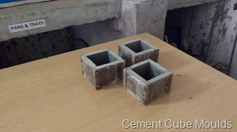 Cement Cube Moulds