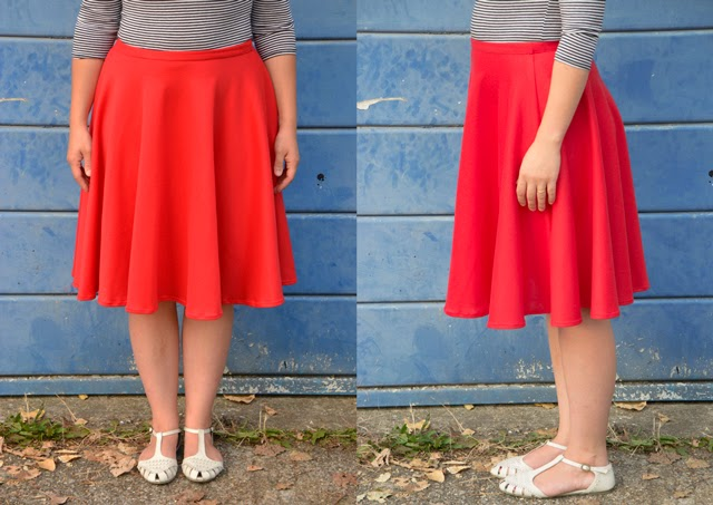 Full Circle Skirt Love Affair