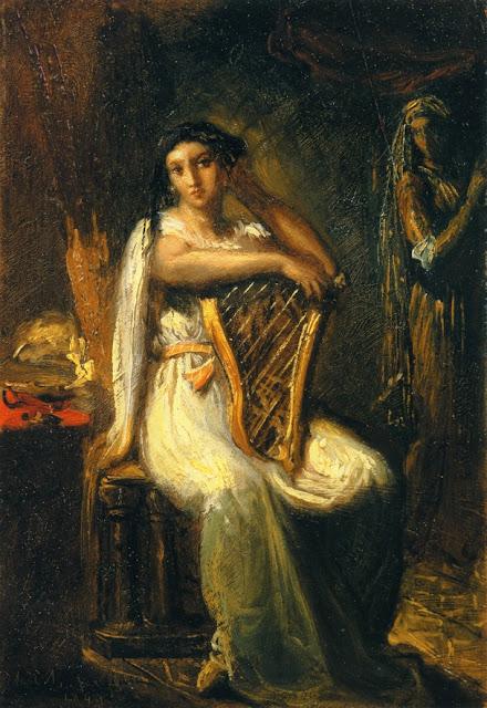 Théodore Chassériau - Desdomona