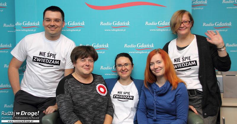O podróżach po Polsce w audycjach radiowych