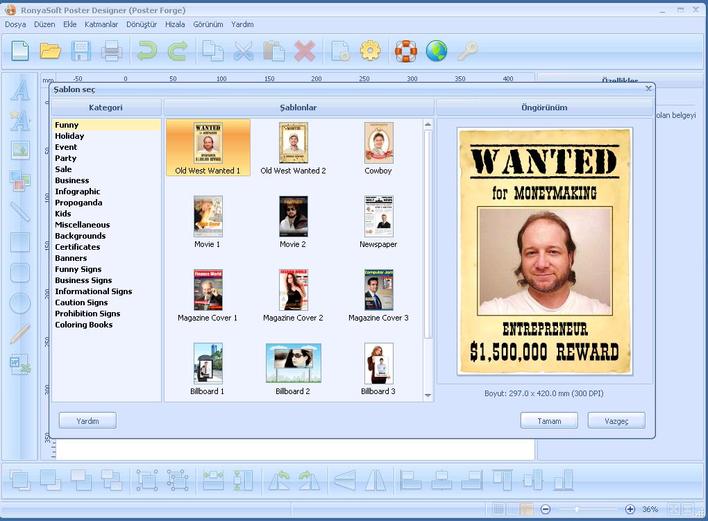 RonyaSoft Poster Designer 2.3.21