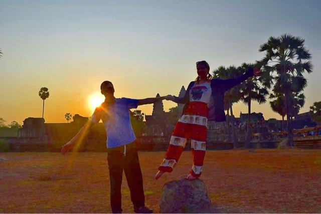 sunrise siem reap cambodia