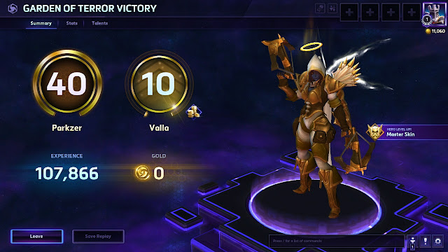 Heroes of the Storm - Level 10 Valla