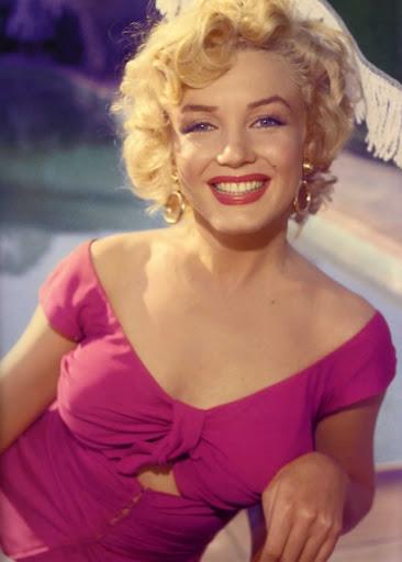 """Marilyn Monroe durante el rodaje de """"Niágara"""""""