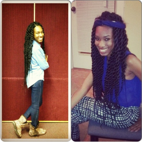 African Naturalistas: Ghana Hair Chick's Letters: Protective Styling ...