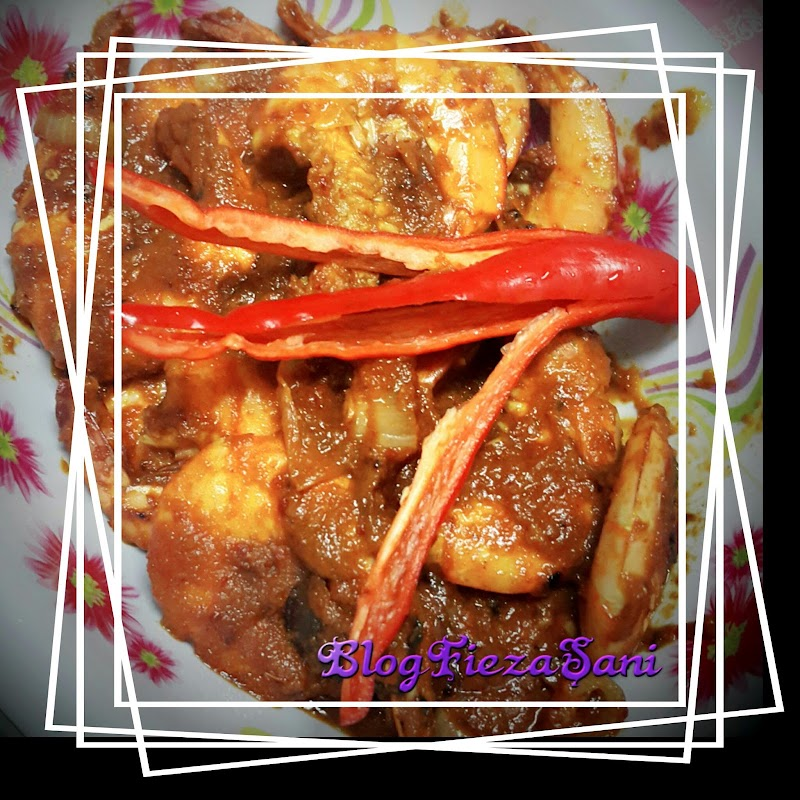 Dapur FiezaSani :Udang Goreng Berempah Sedap dan Mudah