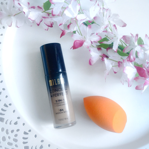 milani conceal + perfect 2 in 1 foundation & concealer review