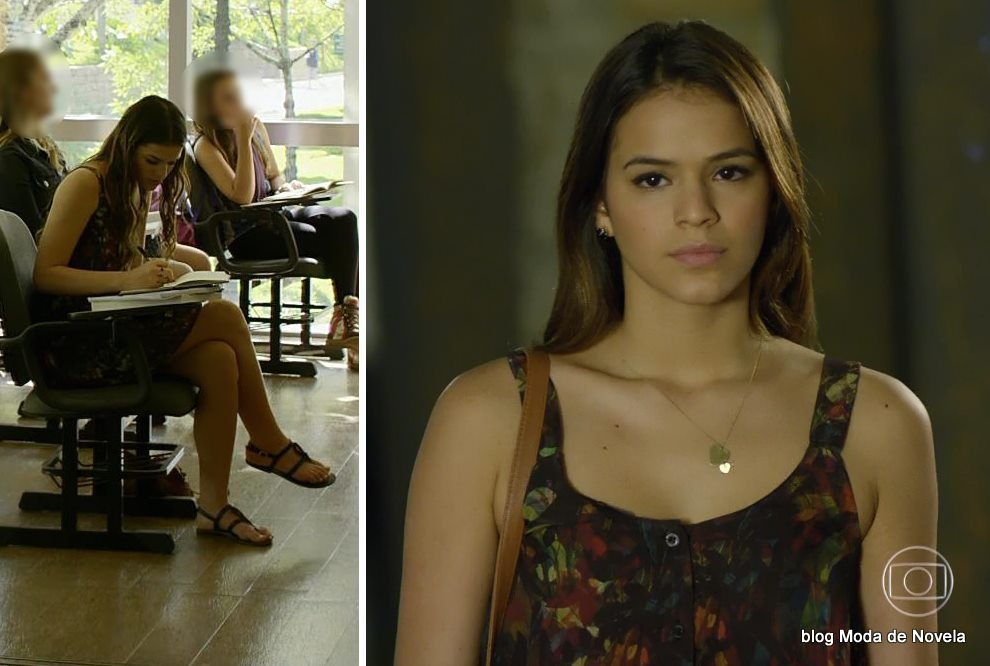 moda da novela Em Família - look da Luiza dia 19 de junho