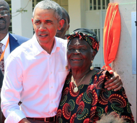 BARACK OBAMA'S GRANDMOTHER, MAMA SARAH OBAMA, DIES AGED 99