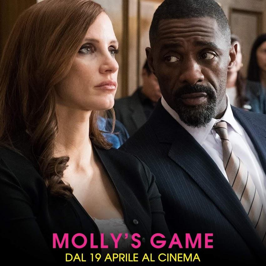 MollySGame, diretto dal grande Aaron Sorkin, al cinema dal 19 aprile