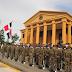 Jóvenes dominicanos de diversas partes del país, ingresan a la Academia Militar Batalla de las Carreras, como aspirantes a cadetes.