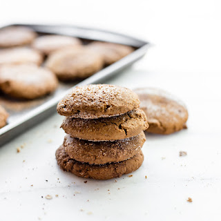 Brown Butter Snickerdoodle Cookies {Gluten Free, Egg Free} Recipe