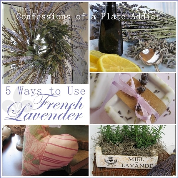 CONFESSIONS OF A PLATE ADDICT Five Ways to Use French Lavender