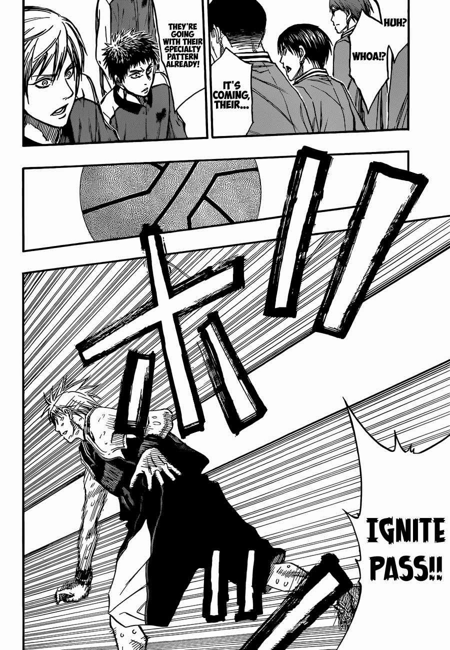 Kuroko no Basket Manga Chapter 257 - Image 16