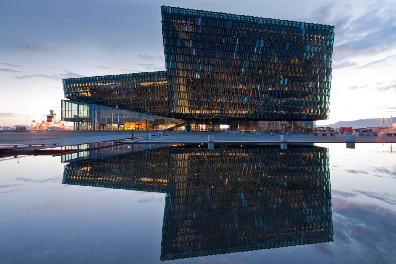 Iceland: HARPA CONCERT HALL AND CONFERENCE CENTRE by HENNING LARSEN