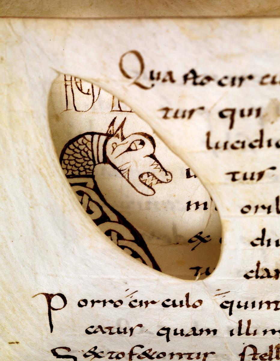 parchment-hole