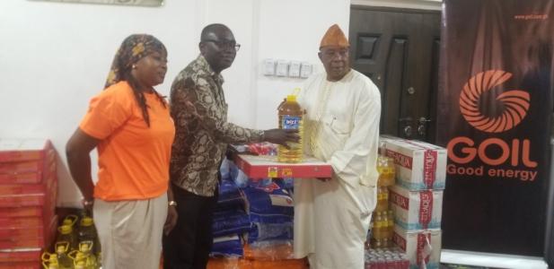 GOIL donates to Chief Imam towards Eid Al-Fitr