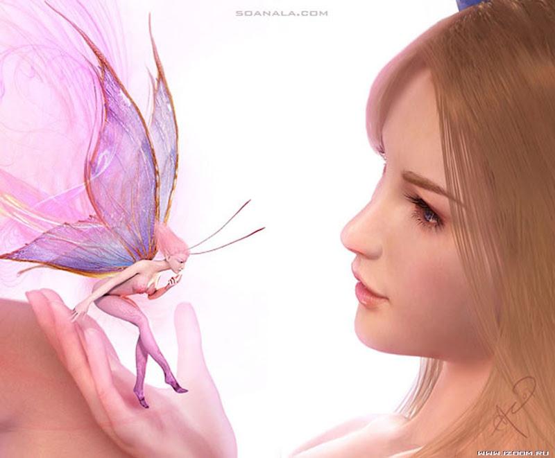 Beautiful Angel Woman, Magic Beauties 5