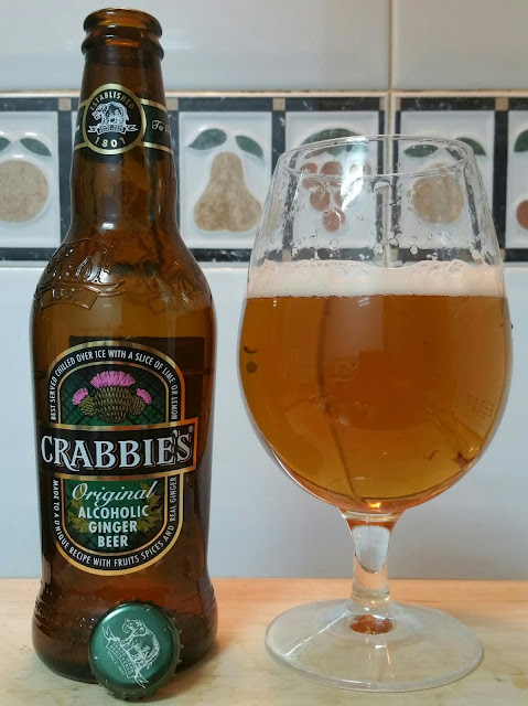 Crabbie´s Ginger Beer cerveza