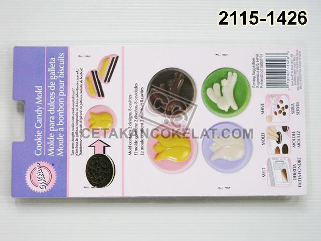 cetakan coklat cokelat wilton 2115-1426 Oreo Easter Paskah Cookie