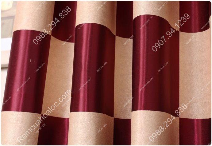 Rèm cửa cao cấp tại hà nội họa tiết bàn cờ vua 16