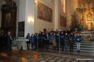 Chór Parafialny z Bucza i Orkiestra Dęta z Okulic. 29.01.2012r.