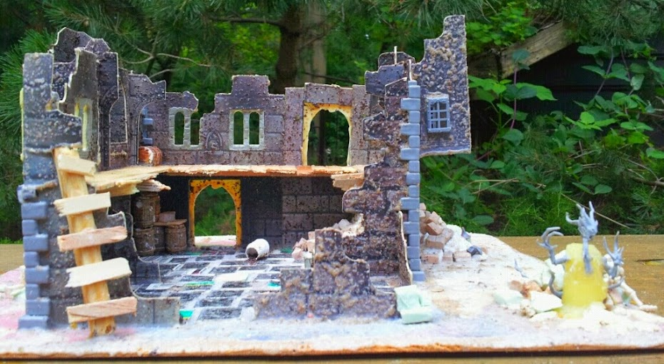 Dwalthrim's smithy - my table and terrain PicsArt_1404299953600
