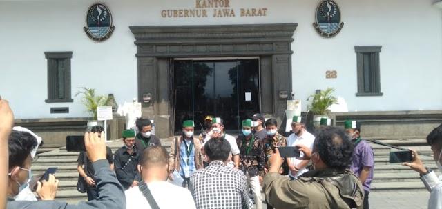 DIDUGA Gubernur Jawa Barat menghindar, HMI Cabang Se-Priangan Timur Kecewa