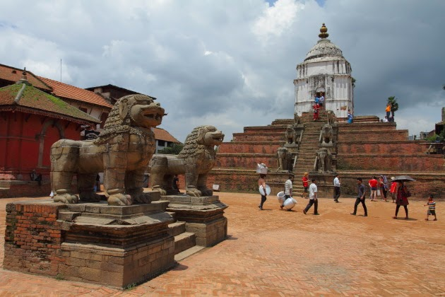 Hindu Buddhist Temple in the Bhaktapur Heritage Zone