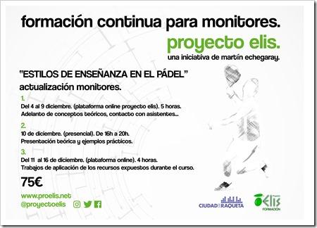 Curso Formacion Continua Pádel Echegaray Madrid