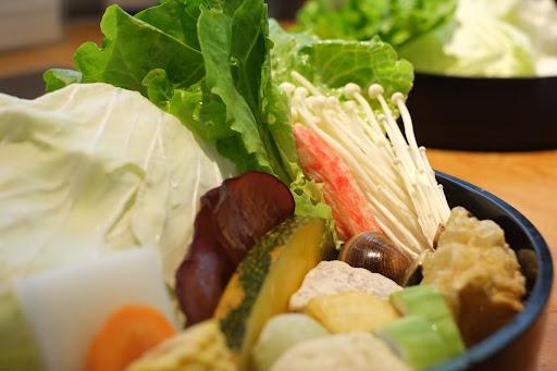 新鮮的蔬菜食材