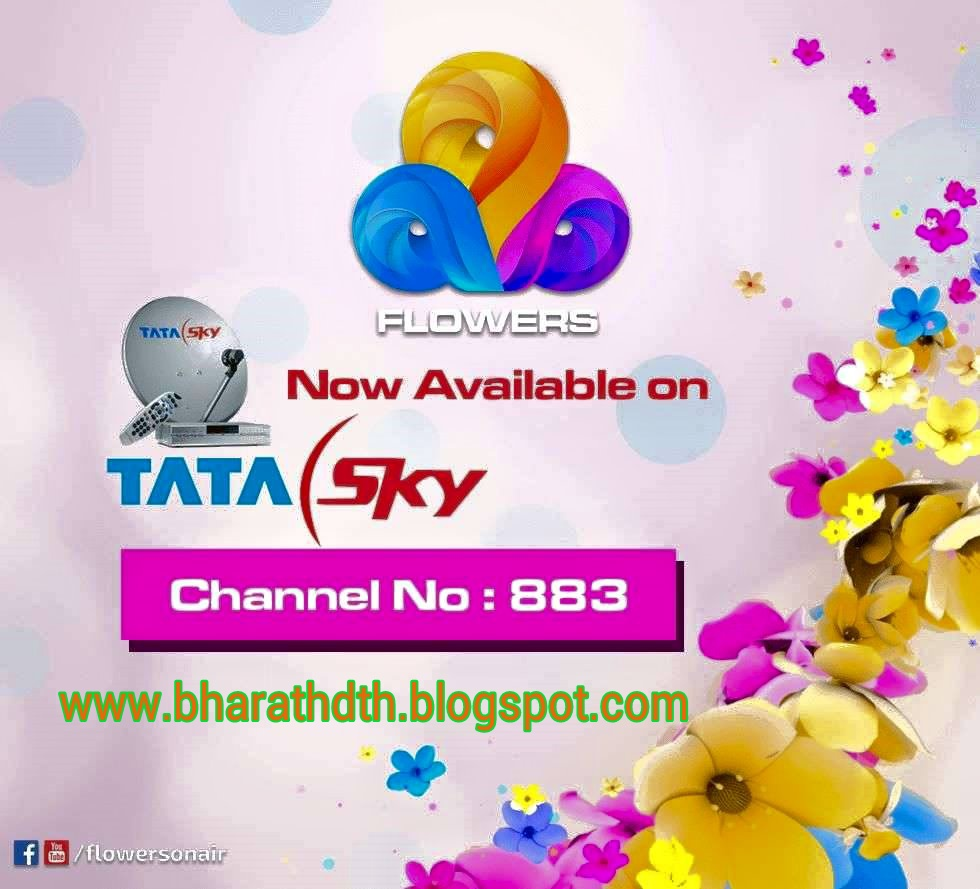 FLOWERS TV Now Available on Tata Sky - Bharath DTH