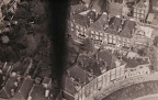 29TH APRIL 1945 FLYING LOW OVER THE ROOF TOPS OF ROTTERDAM AFTER DROPPING FOOD SUPPLIES TO THE DUTCH. Photo courtesy:  Christopher Coverdale. http://www.operatiemanna.nl