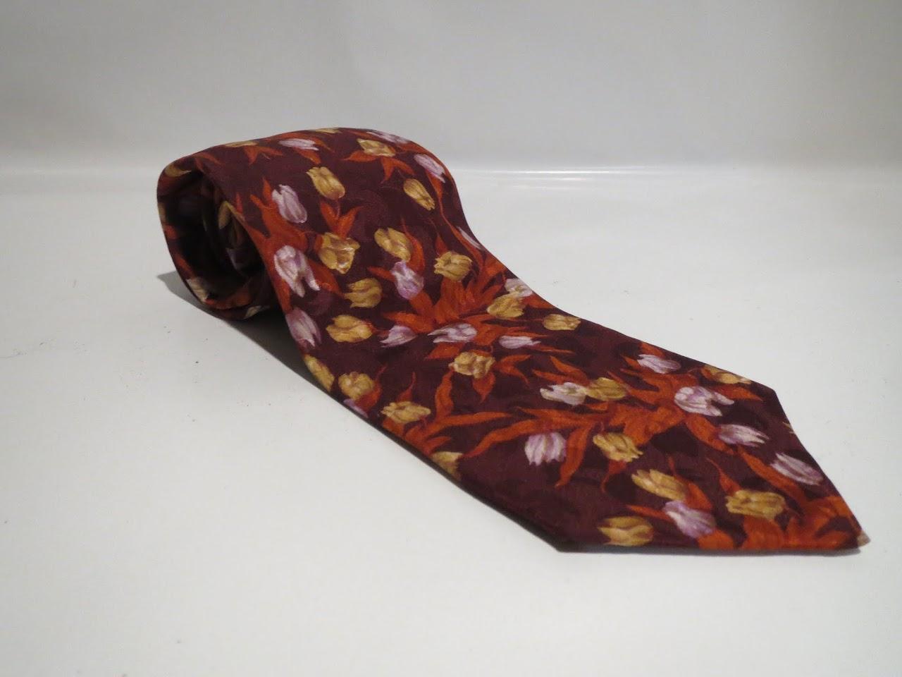 Kenzo Floral Necktie