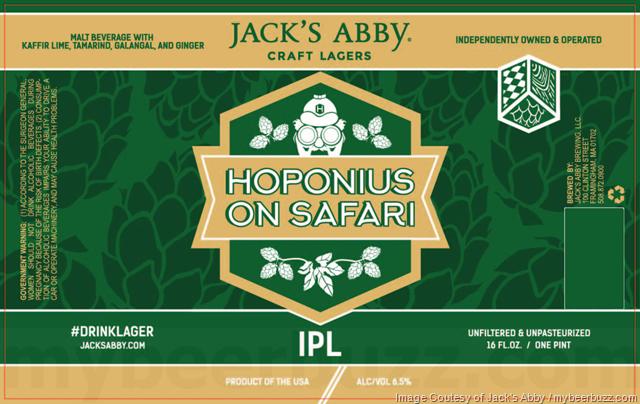 Jack's Abby Adding Hoponius On Safari IPL 16oz Cans