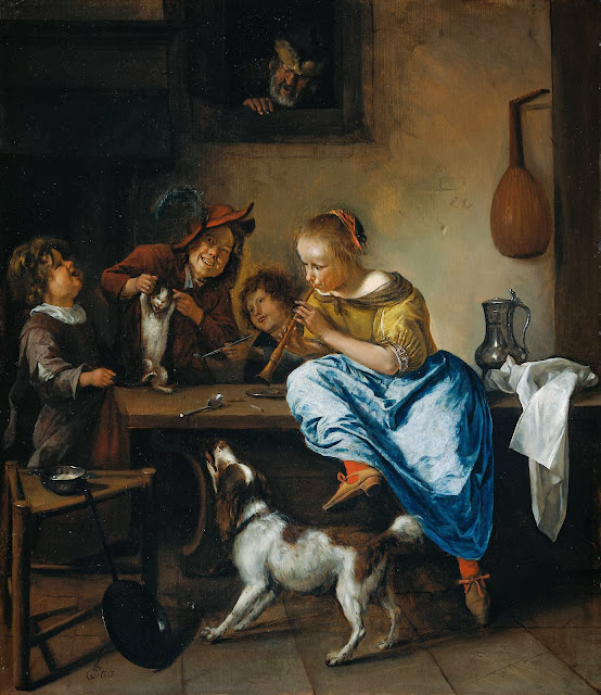 Jan Steen - The Dancing Lesson